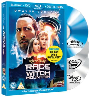 Race To Witch Mountain Blu-ray Triple Play